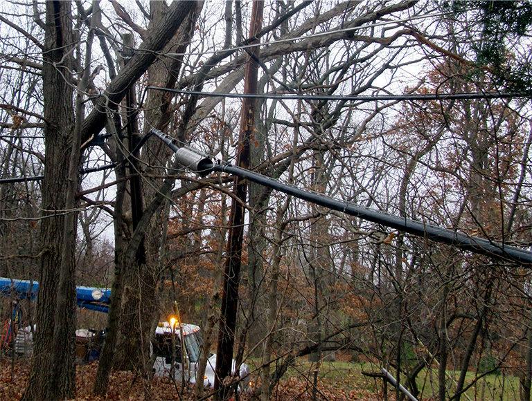 Storm Repairs & Service Restoration Utility Services
