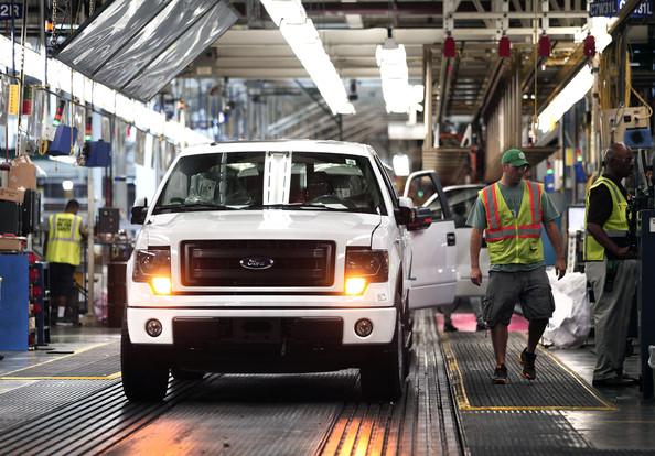 Ford Motor Company Dearborn Truck Plant F-150 Retooling