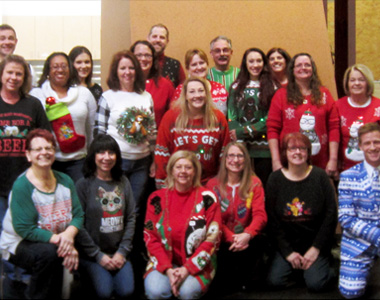 ALS Association Rock the Ugly Sweater Campaign - Motor City Electric