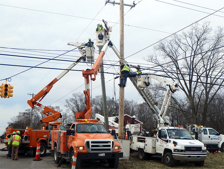 Joint Use utilities work for DTE Energy and other partners