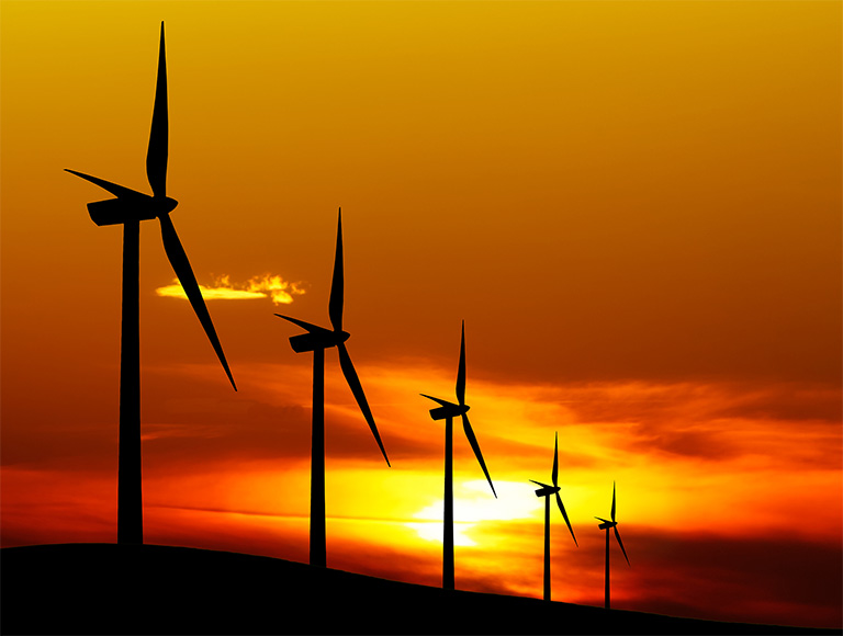 we've help build dozens of wind farms