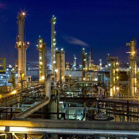 Hydrogen Production Facility Electric Installation Marathon Petroleum Company Detroit Refinery