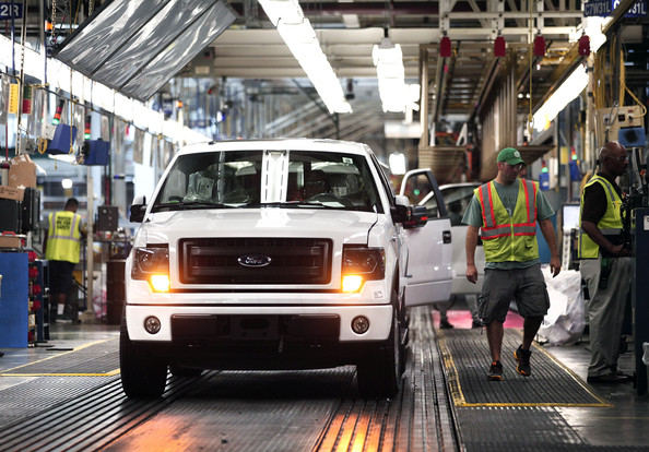 Ford Motor Co. Dearborn Truck Plant F-150 Retooling