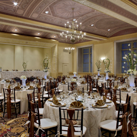 Historic Fort Shelby Hotel Banquet Hall