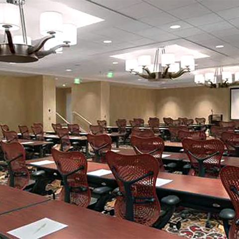 Historic Fort Shelby Hotel Conference room