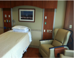 Frankel Cardiovascular Center Hospital room