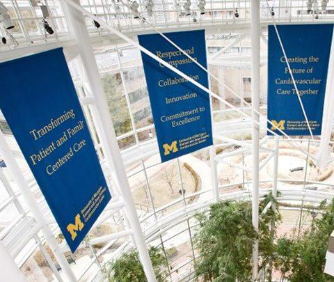 Frankel Cardiovascular Center Banners