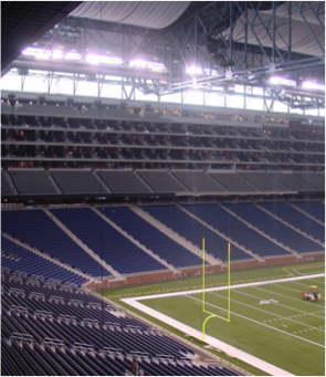 Ford Field Home of the Detroit Lions