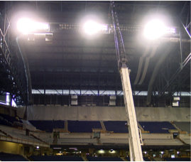Ford Field Construction