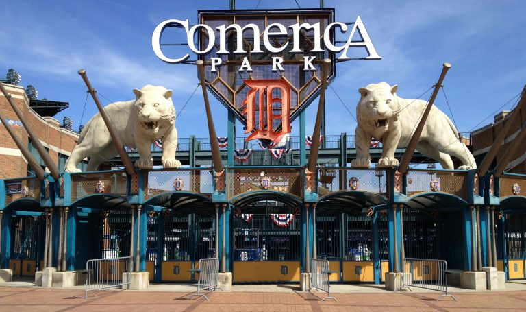 Comerica Park Home of the Detroit Tigers