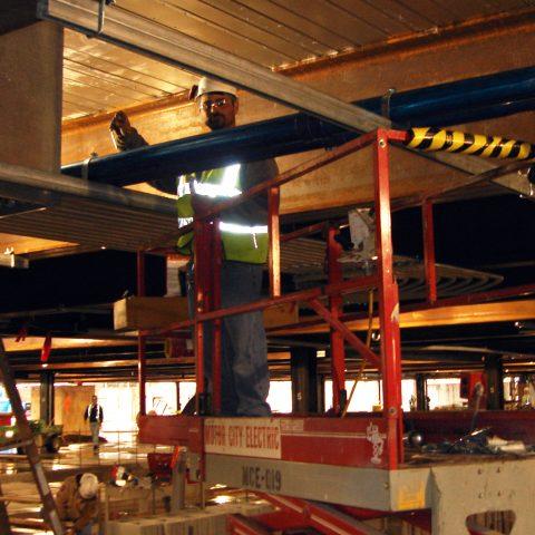 MGM Grand Detroit construction