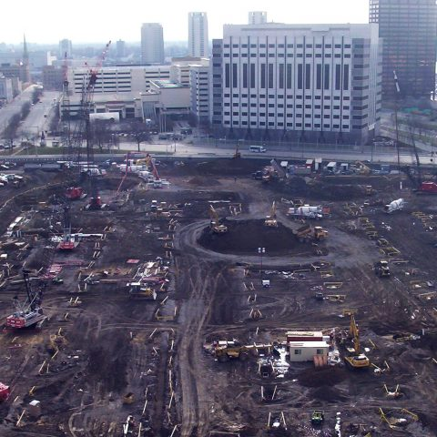 MGM Grand Detroit Construction