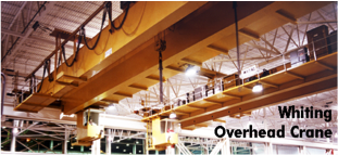 Whiting overhead crane