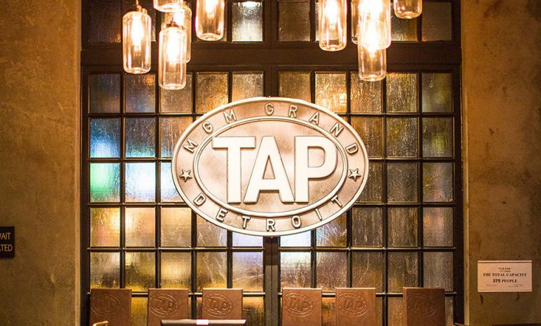 Motor City Electric Co Lights Up The Tap Sports Bar At