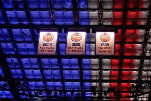 Little Caesars Arena Custom Light Ceiling