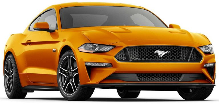 2018 Ford Mustang with the 10R80 transmission