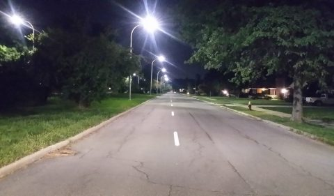 LED lights in Detroit
