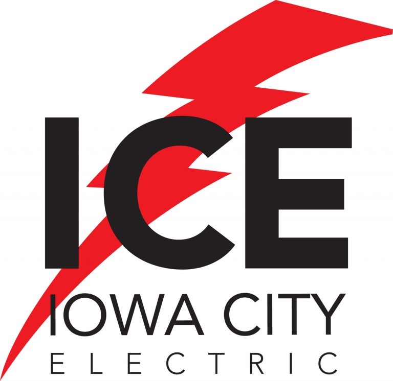 Iowa City Electric Logo | ICE