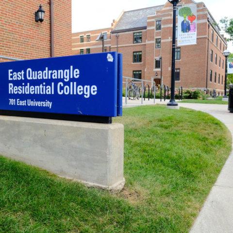 University Michigan East Quad