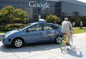 google self-driving