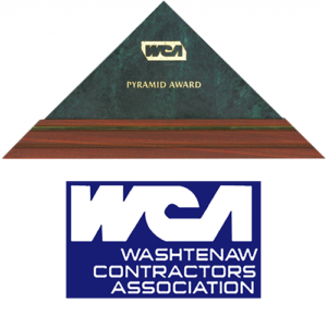 WCA pyramid award