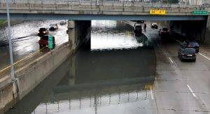 Flooded Freeway