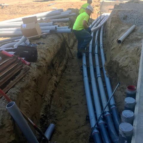 Duct Bank Pipes