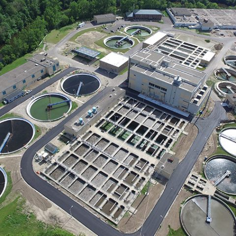 Water Plant Birdseye View