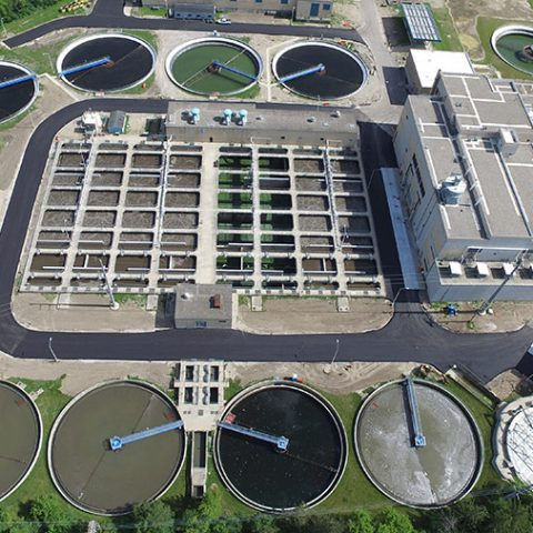 Waste Water Filter Birdseye View