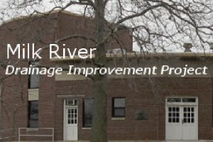 Milk River Drainage Improvement Project