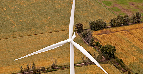 Gosfield Wind Farm Green Energy Electrical Contractor