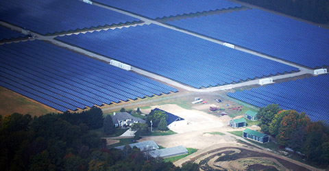 Silver Creek Solar Park Green Energy Electrical Contractor