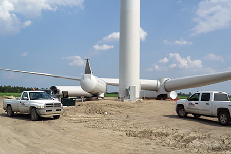 comber wind project