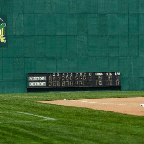 Ernie Harwell Field Detroit Outfield