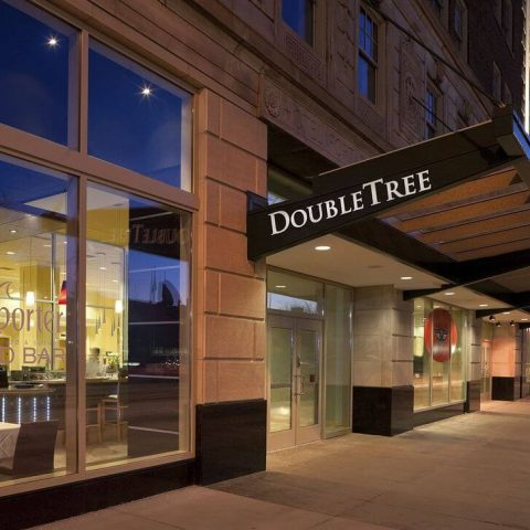 New DoubleTree Suites by Hilton Entrance