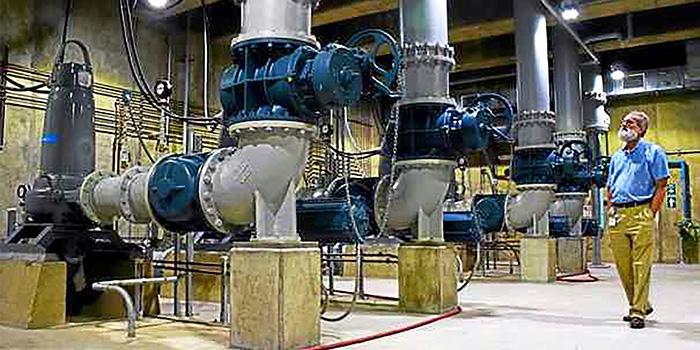 Pontiac Pump Station